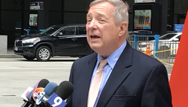 Senator Durbin urges debate on Trump's power to wage war in Iran