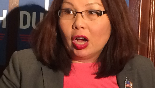 "Sen Duckworth calls Trump ""Toddler in Chief"""