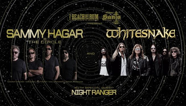 Win tickets to see Sammy Hagar and The Circle!