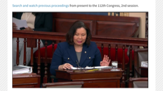 Sen Duckworth cites military responsibilities to justify voting to remove Trump