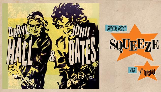 Win tickets to see Hall and Oates!