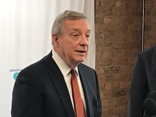 Senator Durbin can't quite give Speaker Madigan a ringing vote of confidence
