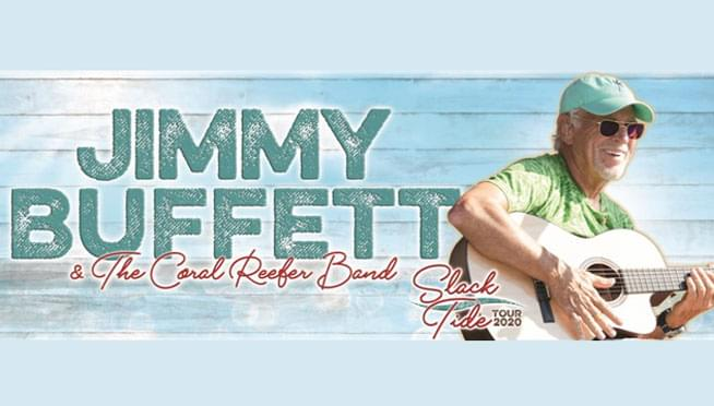 Enter to win tickets to see Jimmy Buffett and The Coral Reefer Band!