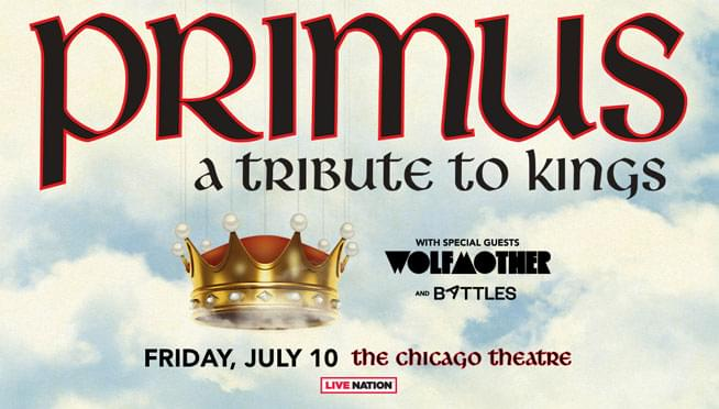 Enter to win a pair of tickets to see Primus!