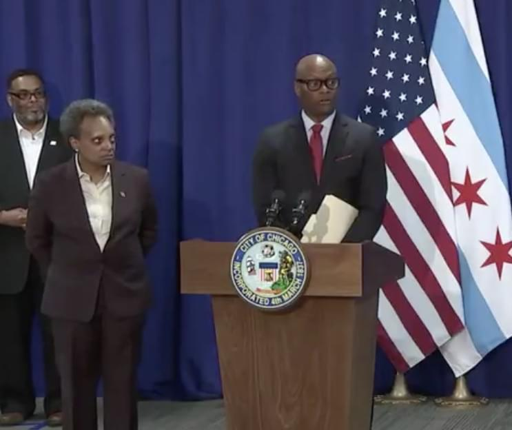 Lightfoot picks former Dallas chief David Brown to be the next Chicago Police Supt.