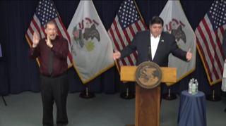Trump says Pritzker is really happy with federal response & Pritzker says yes, sometimes