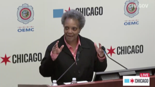"""""""Not in my city,"""" say Lightfoot to Trump troops"""
