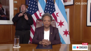 """""""Rise up with me for peace"""" says Lightfoot in State of the City address"""