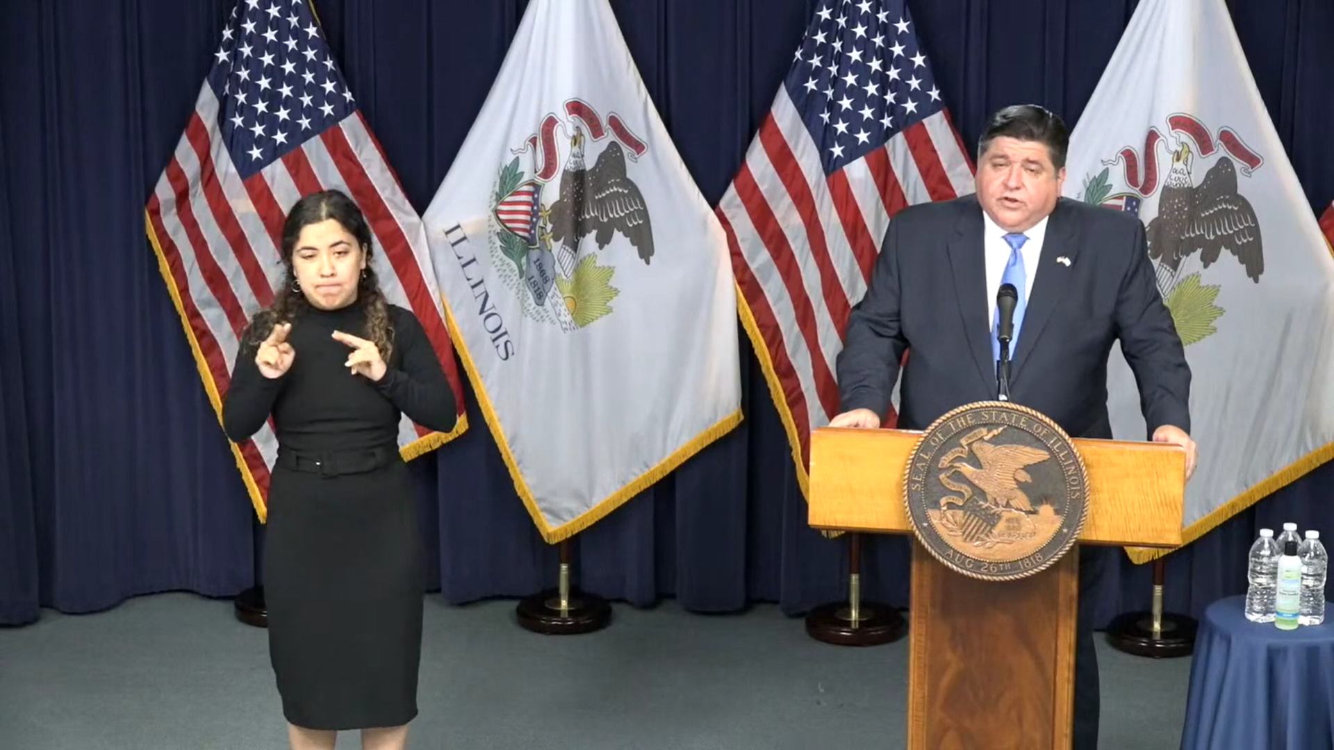 Pritzker imposing COVID-19 restrictions on sports