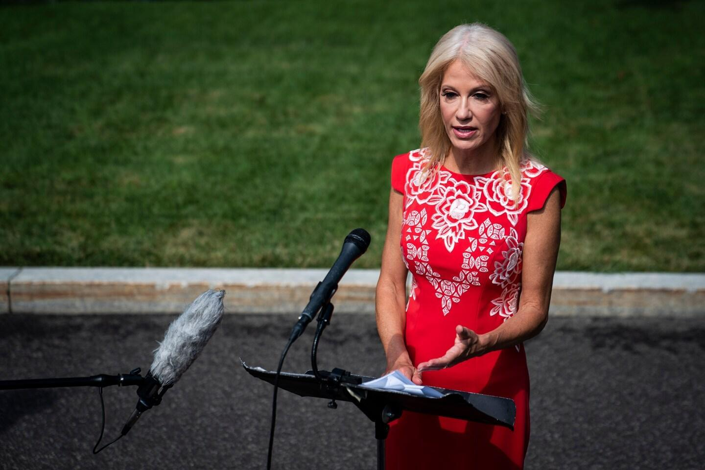 Trump Aide Kellyanne Conway Announces She's Leaving The White House