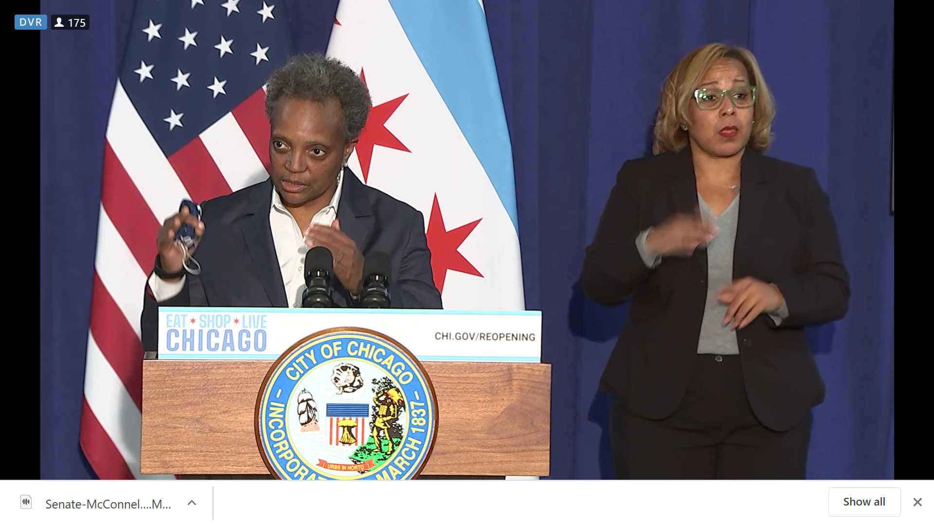 Lightfoot easing some COVID-19 restrictions on Chicago businesses