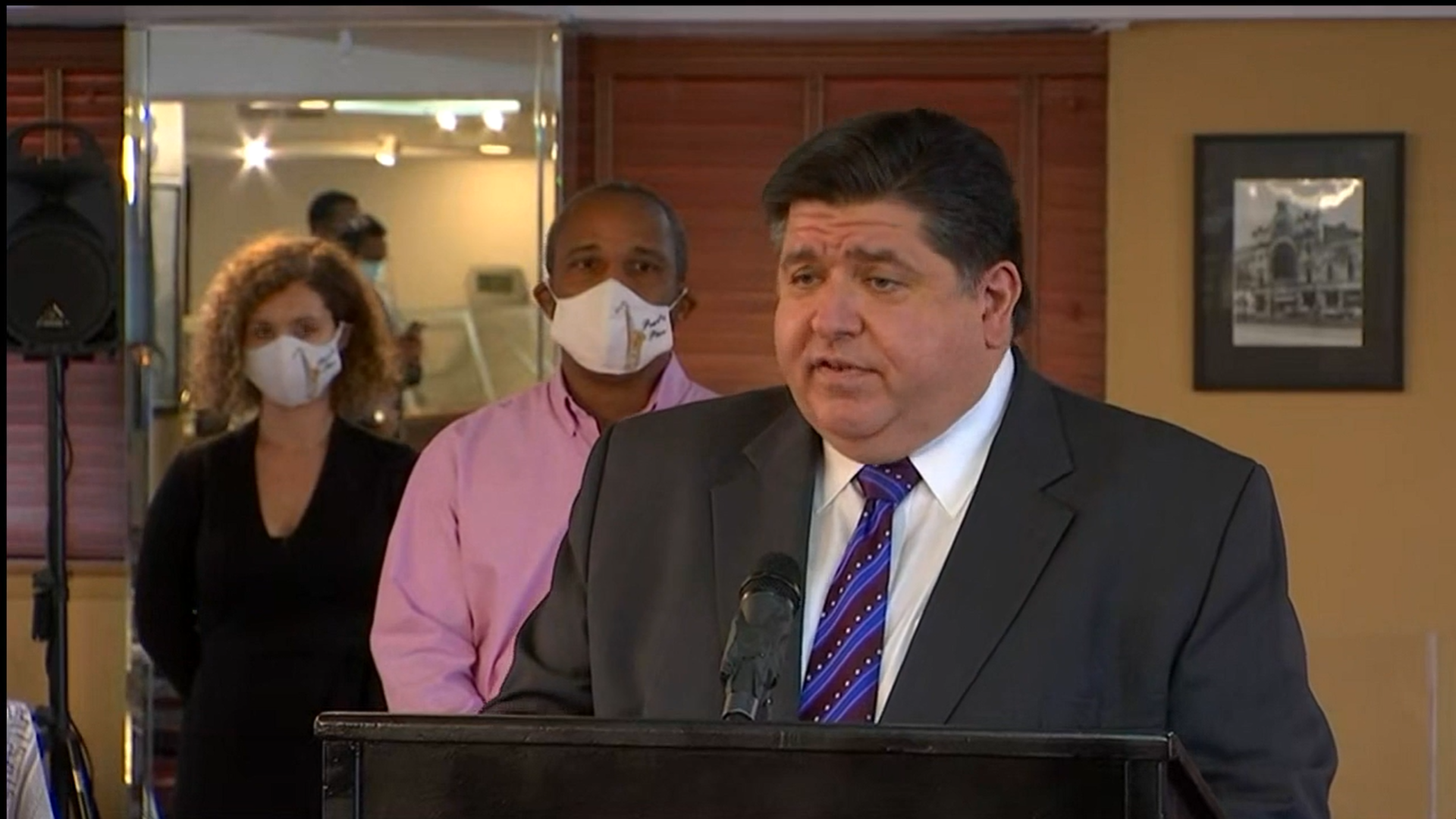 Pritzker says it's time for Madigan to step down as party chairman