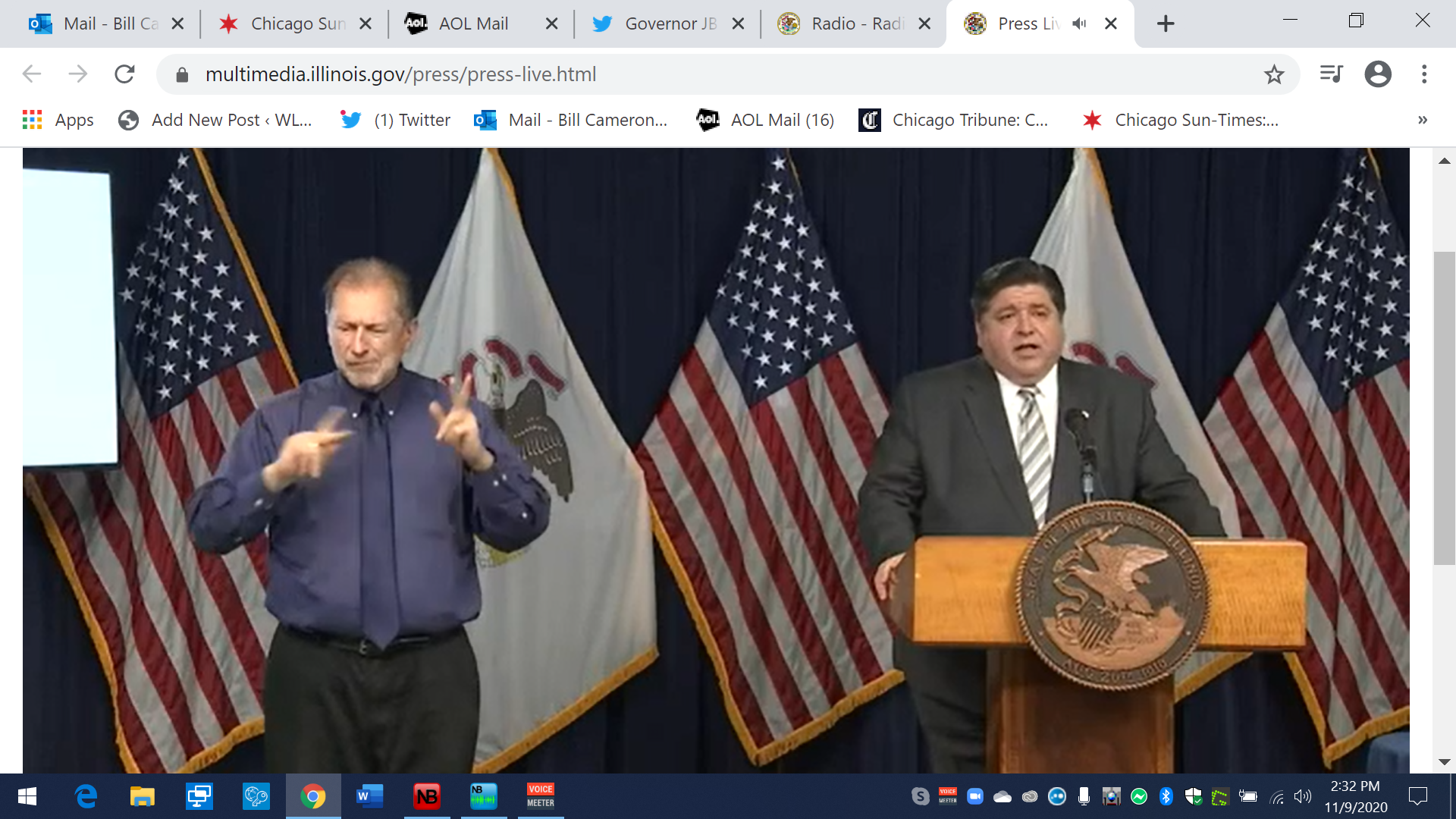 Pritzker imposes restrictions on DuPage, Kane, Will & Kankakee Counties