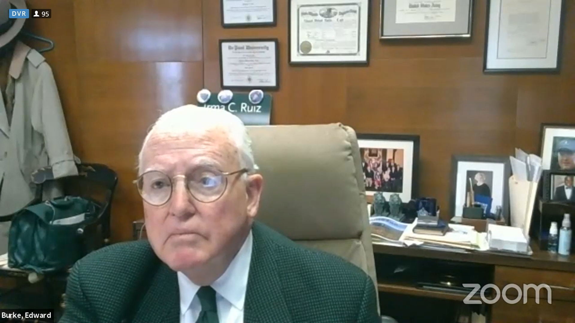 Indicted Ald Ed Burke suggests City Hall cook the books a little to avoid prop tax hike