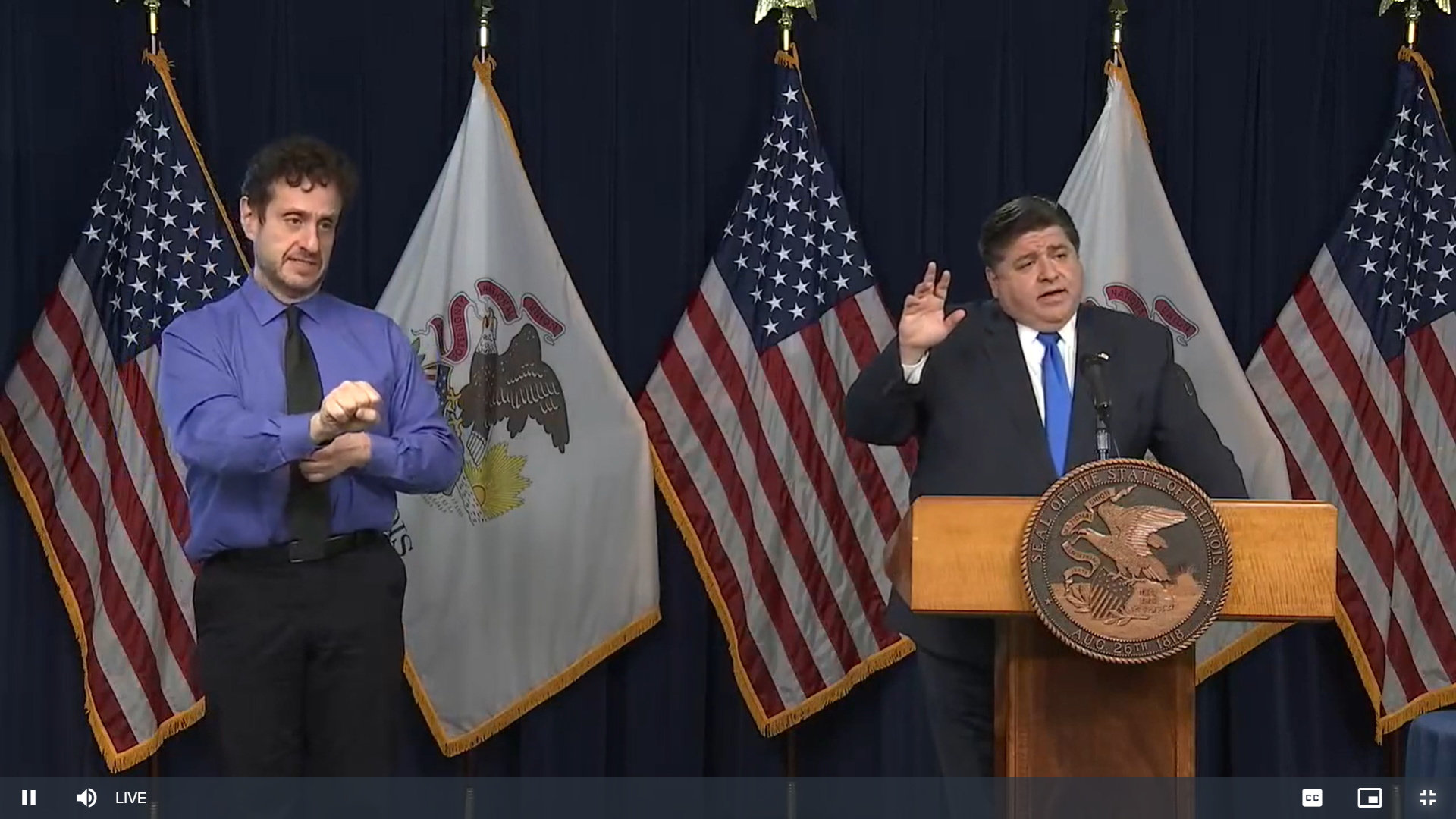 """Pritzker extends Tier-3 restrictions """"for the next few weeks"""""""