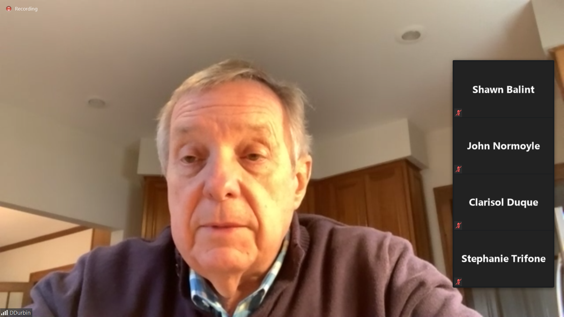 Durbin suggesting a way to disqualify Trump from a 2024 run