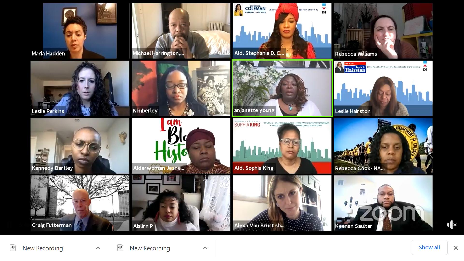 Black Alderwomen introduce Anjanette Young Ordinance