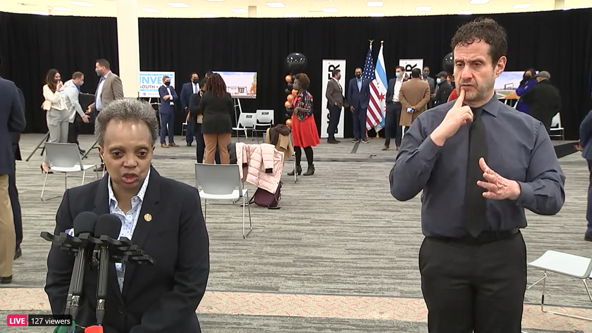 Lightfoot applauds Robin Kelly as first Black woman to lead IL Democratic Party
