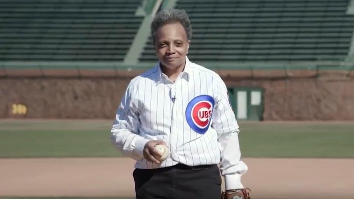 Lightfoot allowing fans in the stands at ballparks