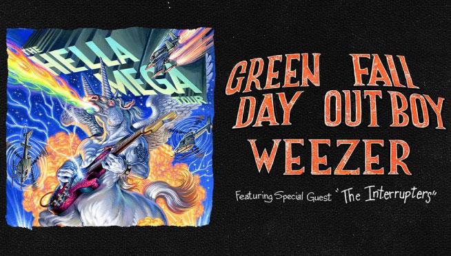 8/15/21 – Hella Mega Tour – Green Day / Fall Out Boy / Weezer