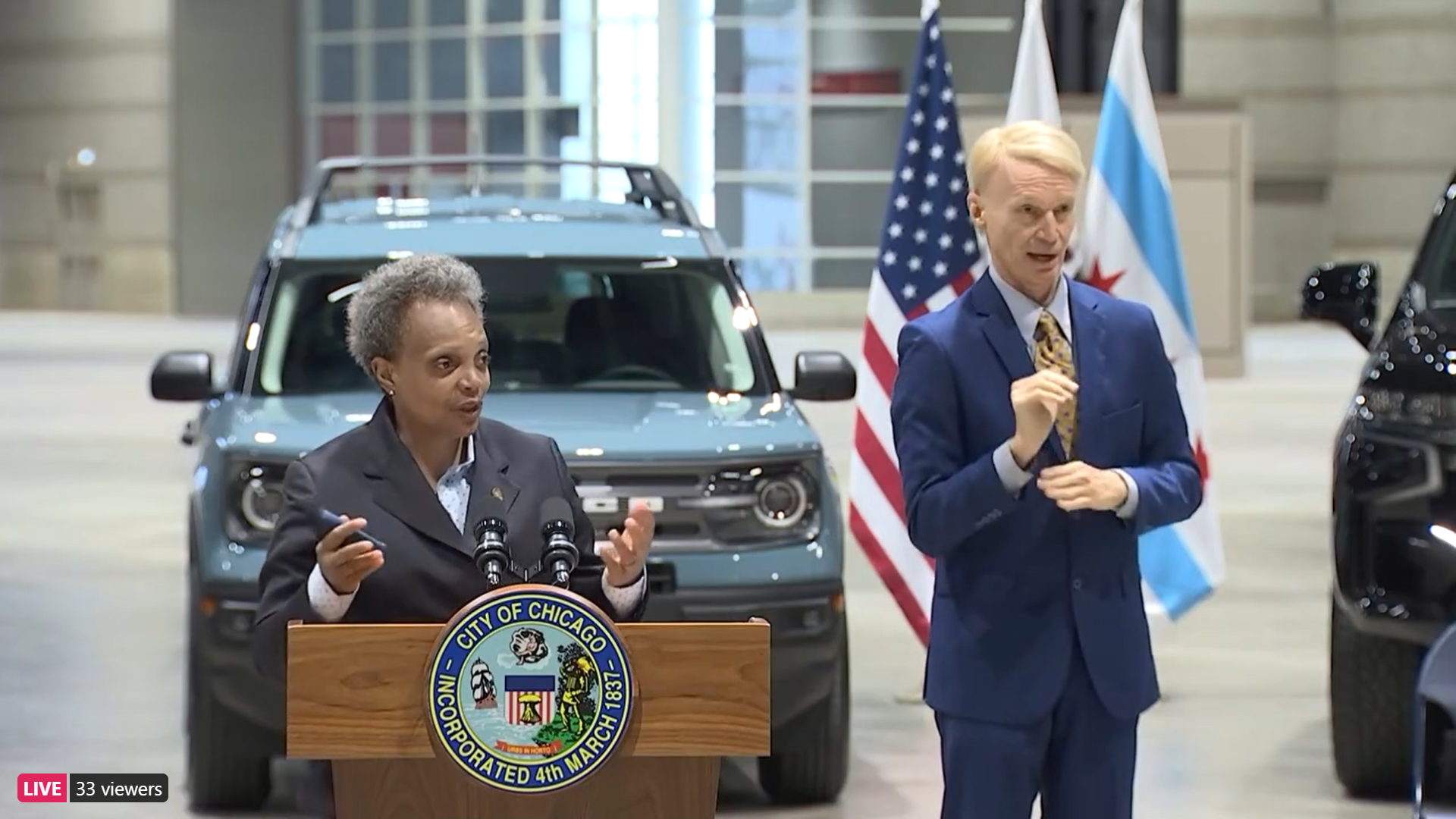 "Lightfoot announces ""goal"" to fully reopen Chicago by the 4th of July"