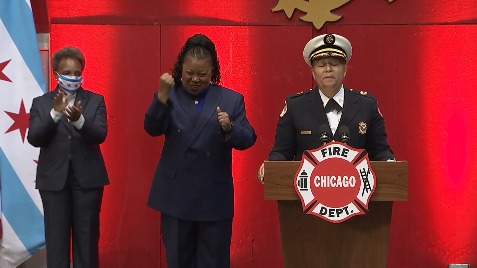 Lightfoot appoints first female fire commissioner