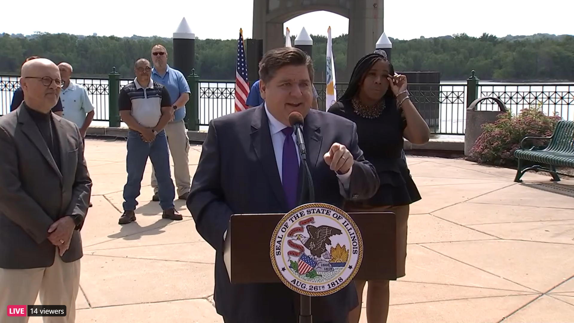 Pritzker says Illinois still on track to fully reopen outside of Chicago on June 11th