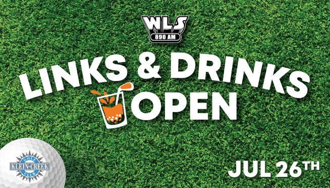 7/26/21 – Play Golf  at the WLS-AM LINKS & DRINKS OPEN and you could win Concert Tickets!