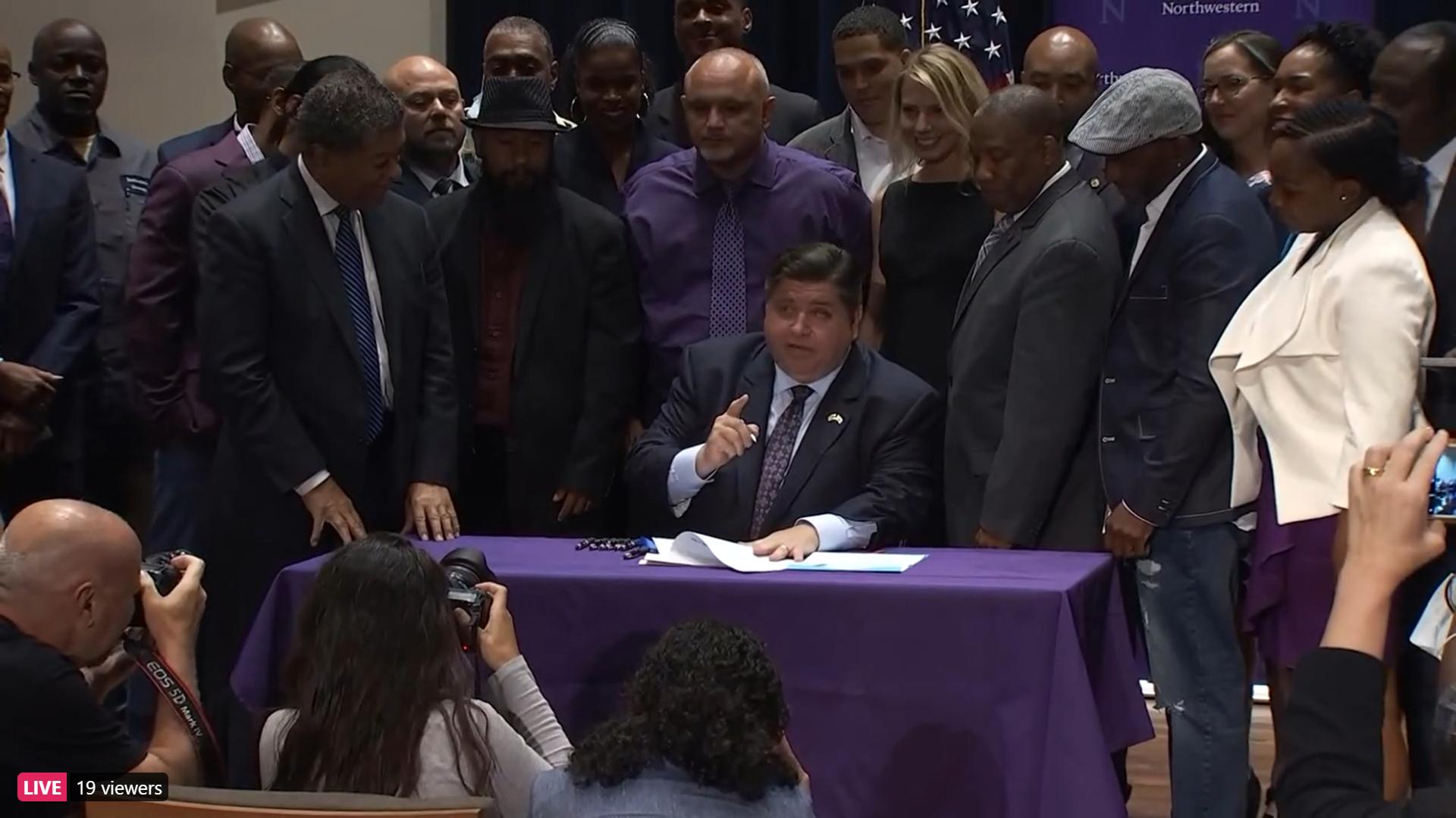 Pritzker signs more criminal justice bills into law
