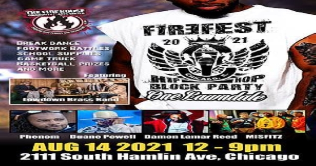 The Firefest One Lawndale Hip Hop Block Party is this Saturday!