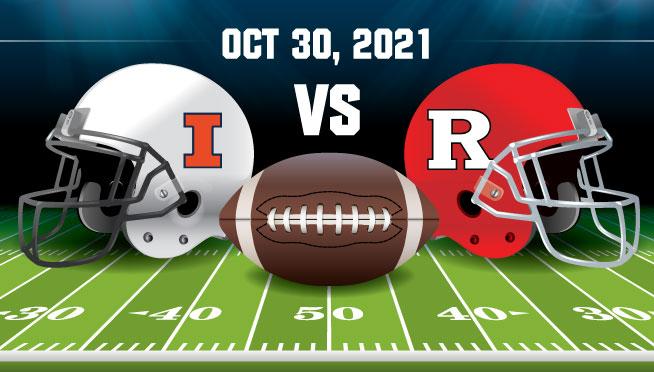 10/30/21 – ILLINOIS vs Rutgers