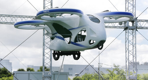 Are flying cars right around the corner?