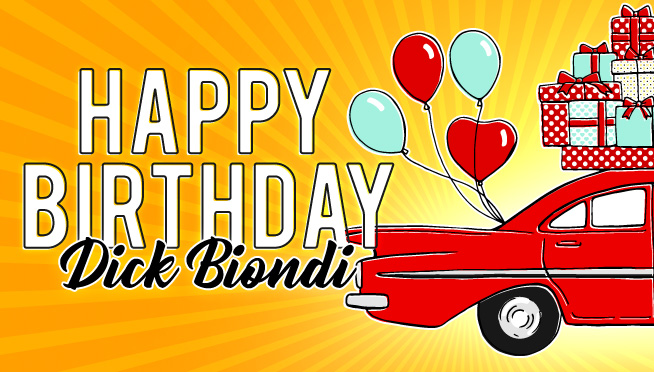 Happy Birthday, Dick Biondi