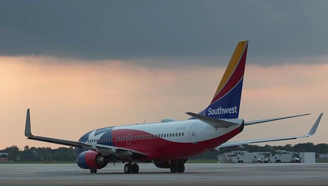 Southwest canceled over 1000 flights this weekend