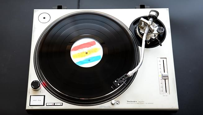 Vinyl sales reached their highest in a week in the last 30 years