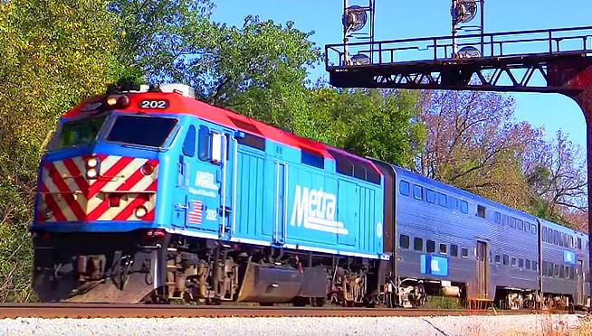 Metra offering free rides tonight for New Years Eve