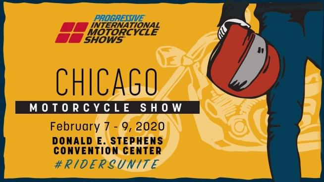 2/7/20 – 2/09/20 – Meet Dave Fogel at the Progressive International Motorcycle Show