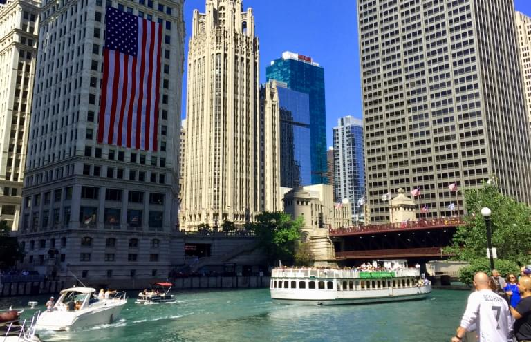 Chicago is the BEST Large City to visit 4 years in a row!!
