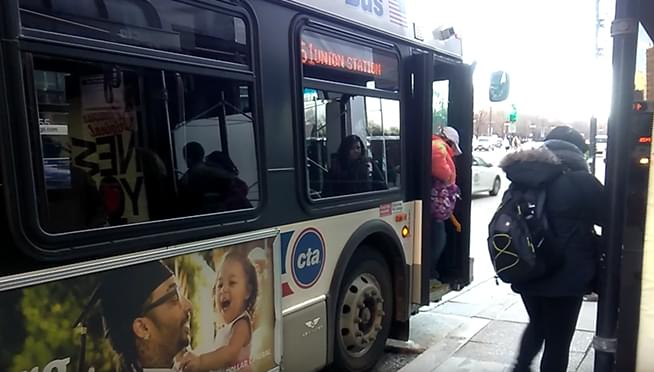 CTA will test allowing riders to enter front and rear doors on buses