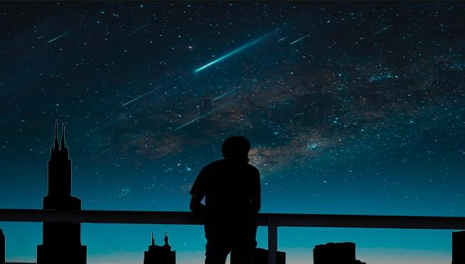 Get ready to look up and check out 2 meteor showers