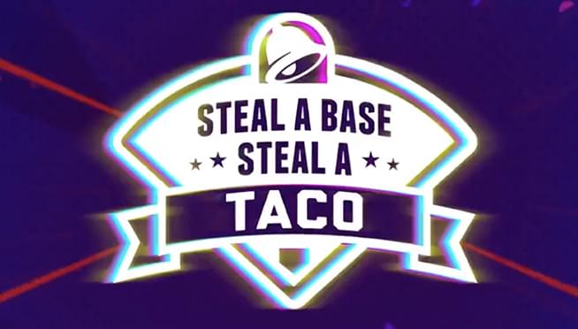 Image result for steal a base steal a taco 2019