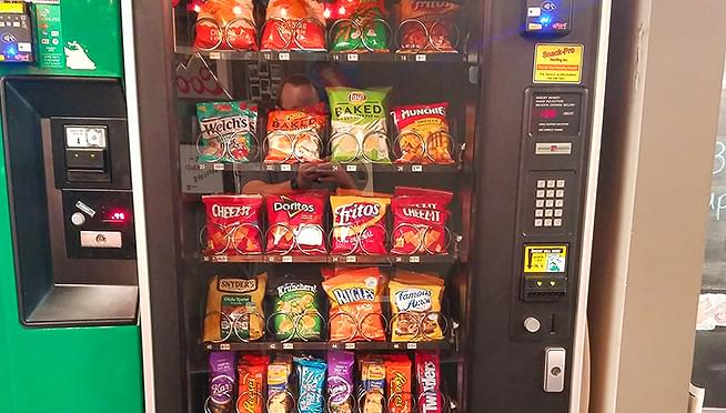 Starting January 1st, 1/3 of snacks in vending machines will be healthy