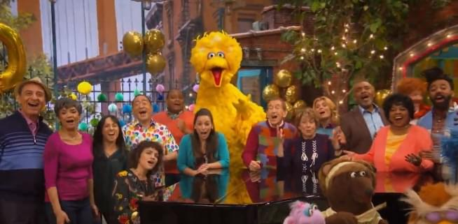 Sesame Street turns 50! The television special will be on HBO and PBS!
