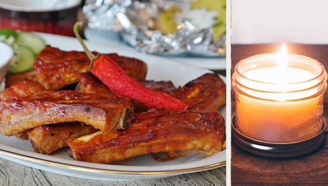 Chili's is selling BARBECUE RIB-scented candles