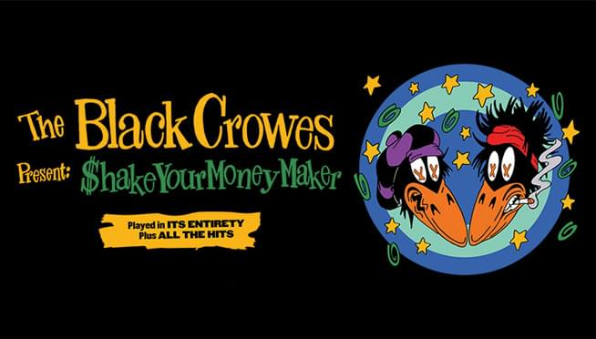 Win tickets to see The Black Crowes!
