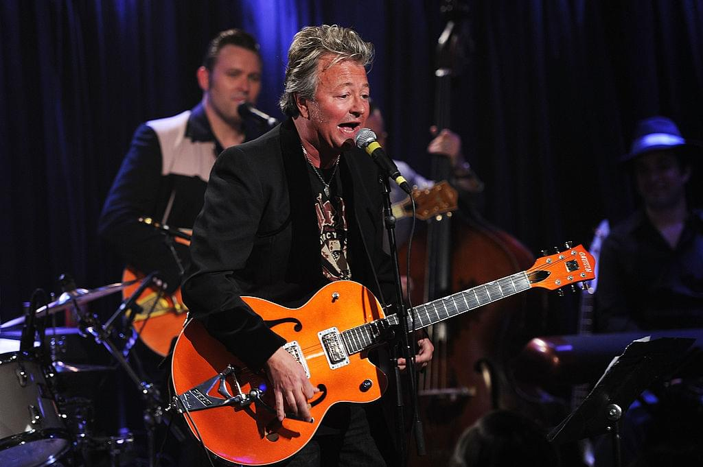 Ear issues force Brian Setzer to cancels annual Christmas Tour
