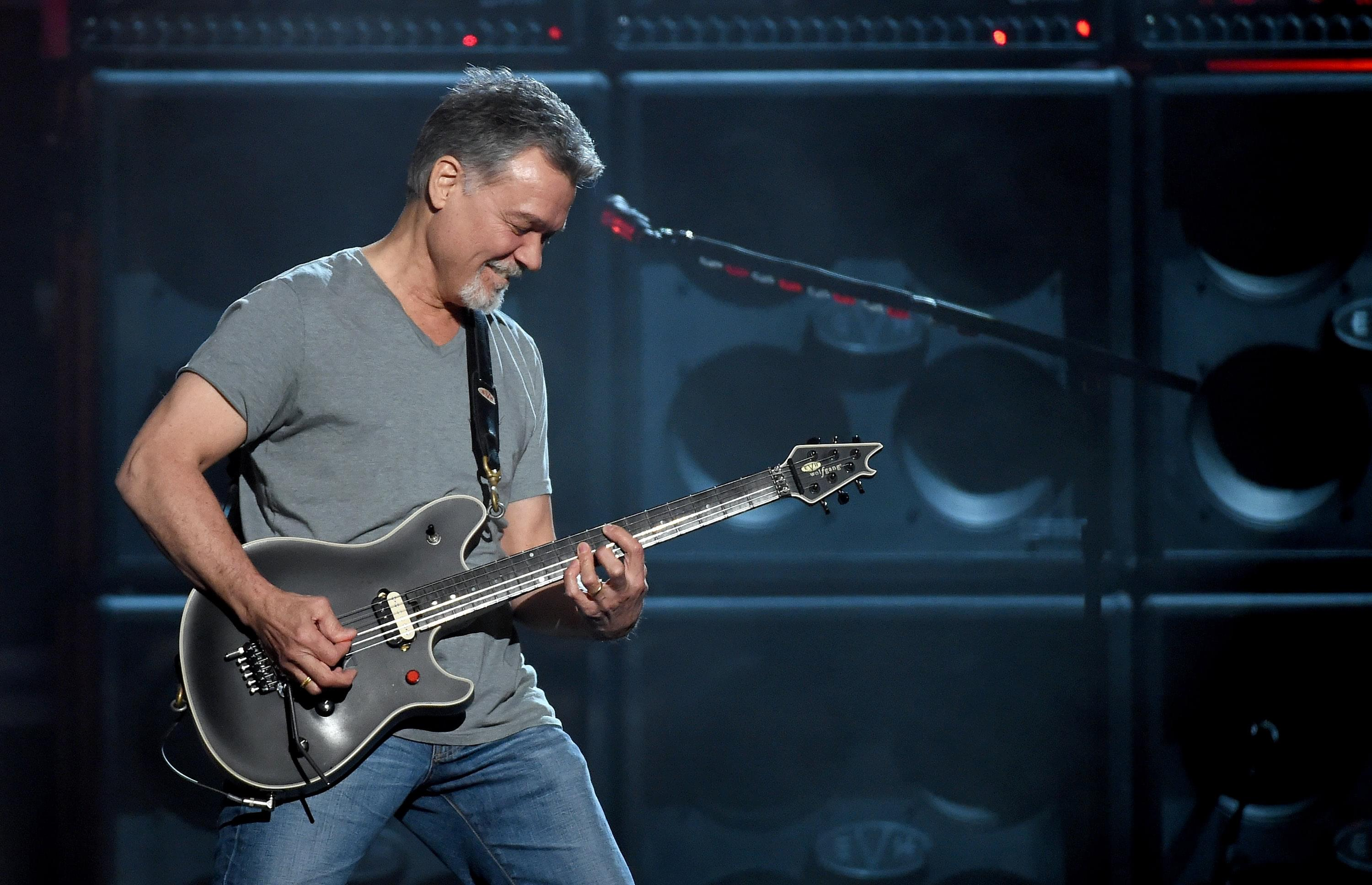 REPORT: Eddie Van Halen hospitalized for bad reaction to cancer medicine