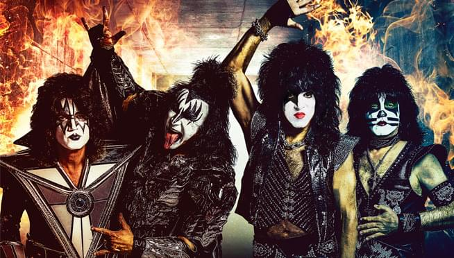 See Kiss at the Hollywood Casino Amphitheatre