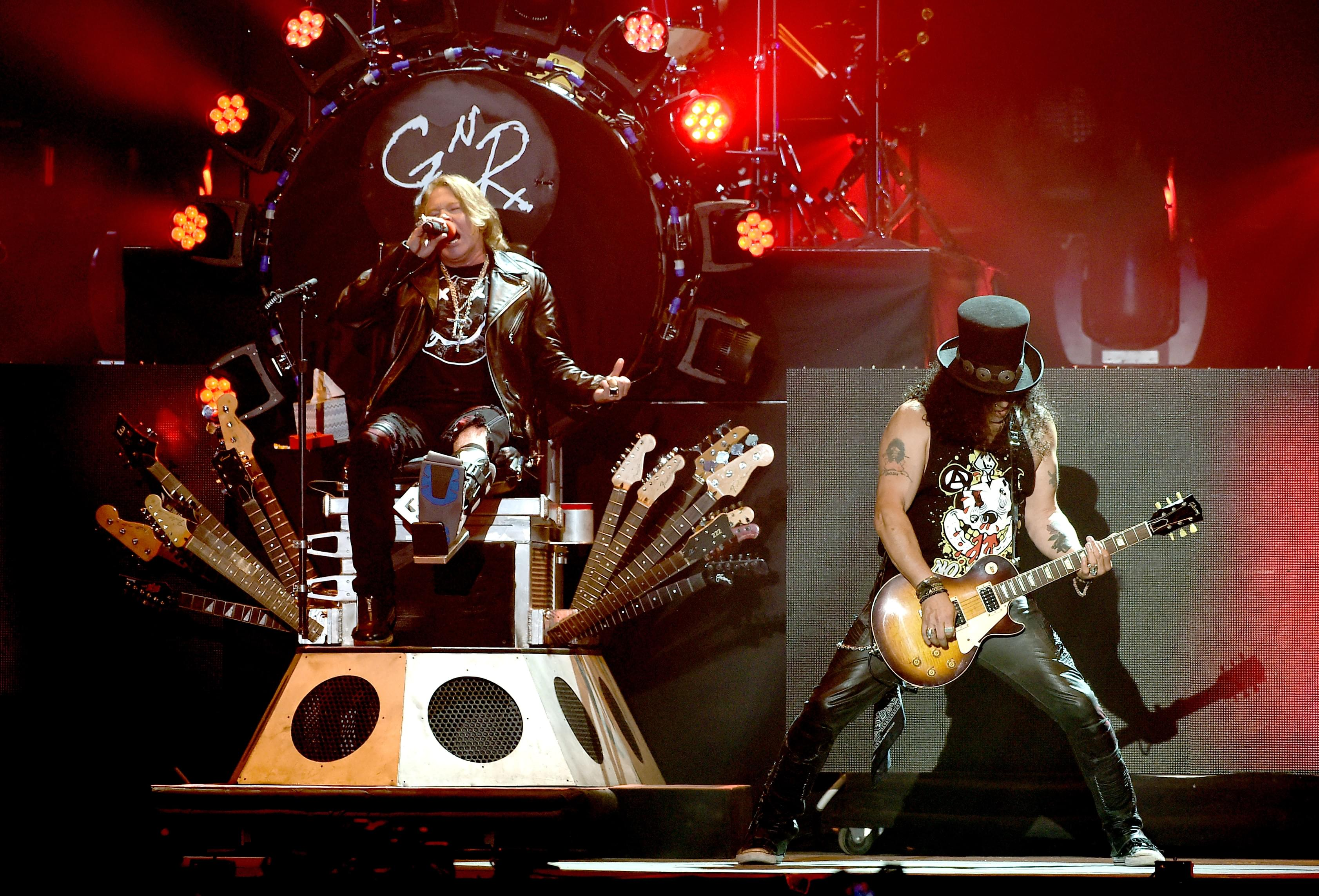 Guns N' Roses tour now third highest-grossing of all time