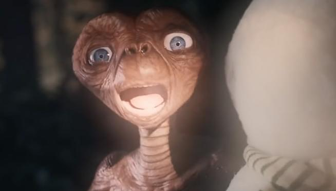 WATCH E.T. and Elliot reunite for the first time since the 1982 movie